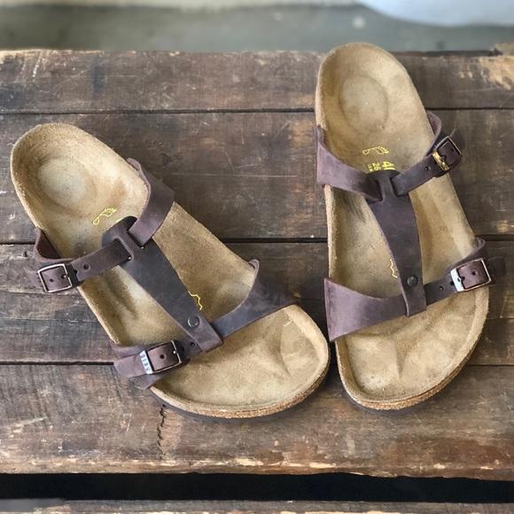 734419efbe50 Birkenstock Shoes - Birkenstock Larisa T Strap Sandals LIKE NEW 40 L 9